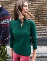 Boden Tessa Button Neck Sweater