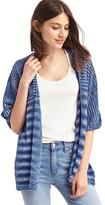 Gap Relaxed half-sleeve cardigan