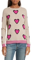 Chinti and Parker Women's Chinti & Parker Heart Burst Cashmere Sweater