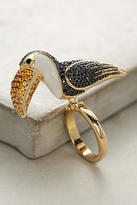 Noir Toucan Cocktail Ring