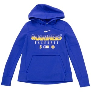 Nike Youth Seattle Mariners Therma Fleece Hoodie