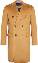 Tommy Hilfiger Gimon Tailored Overcoat, Tan