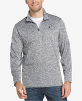 Izod Men's Advantage Performance Stretch Quarter-Zip Sweater
