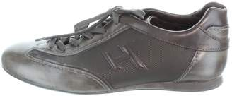 Hogan Grey Leather Trainers