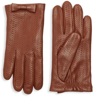 Portolano Perforated Leather Gloves