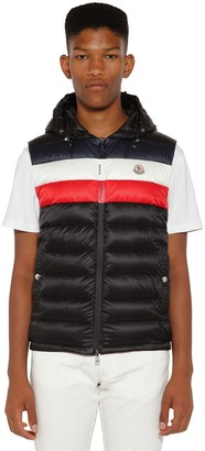 Moncler Timothe Quilted Nylon Down Vest