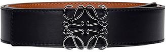 Loewe Belts In Black Leather