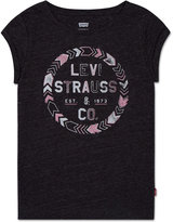 Levi's Rolled Short-Sleeve T-Shirt, Toddler (2T-5T) & Little Girls (7-16)