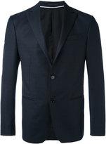 Z Zegna tonal pattern blazer - men - Cupro/Wool - 48