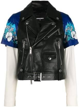 DSQUARED2 biker vest