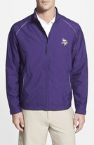 Cutter & Buck Men's 'Minnesota Vikings - Beacon' Weathertec Wind & Water Resistant Jacket