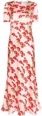 Bernadette Jane short-sleeved maxi dress