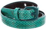 Bottega Veneta Thin Python Belt