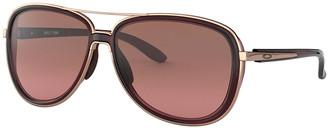 Oakley Split Time Gradient Aviator Sunglasses