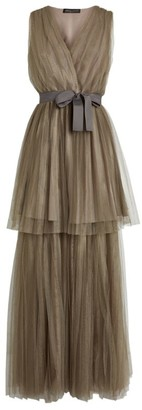 Fabiana Filippi Tiered Tulle Gown