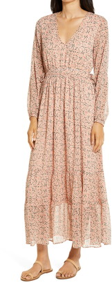Lost + Wander Floral Fairy Long Sleeve Maxi Dress