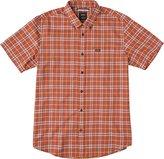 RVCA Men's That'll Do Plaid Short Sleeve Shirt