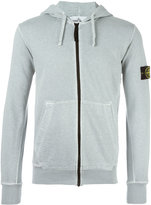 Stone Island zip hoodie - men - Cotton - XXL