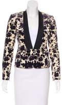 Tory Burch Floral Print Tailored Jacket w/ Tags