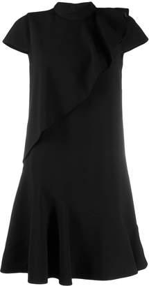 Paule Ka layered flared dress