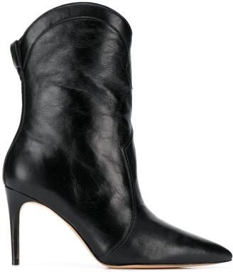 Alexandre Birman stiletto heel pointed toe boots