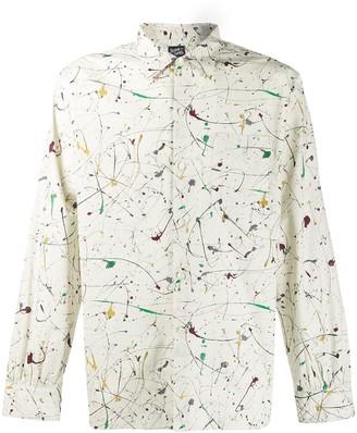 Neighborhood paint splatter effect shirt