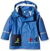 Sterntaler Unisex Baby 5651500 Rain Jacket Non-Lined Cape Short Sleeve Raincoat,One Size (Manufacturer Size:128)