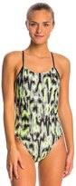 Nike Blurred Lines Cut Out Tank One Piece Swimsuit 8145979