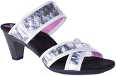 Helle Comfort Silver Ece Leather Sandal