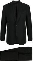 Emporio Armani Single-Breasted Wool Suit Jacket