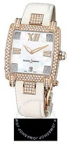 Ulysse Nardin Caprice Mother of Pearl Dial Satin Strap Automatic Ladies Watch