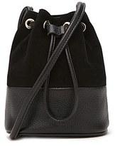 Forever 21 FOREVER 21+ Genuine Suede Bucket Bag