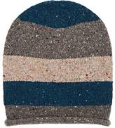 Barneys New York Men's Donegal Striped Wool-Cashmere Hat