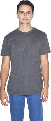 American Apparel Men's 50/50 Crewneck Short Sleeve T-Shirt 2-Pack