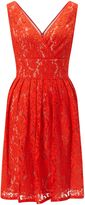 Adrianna Papell Sequin & lace dress