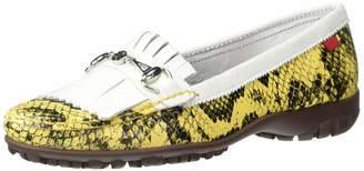 Marc Joseph New York Womens Leather Made in Brazil Lexington Golf Shoe