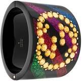 Gucci Crystal GG Cuff bracelet