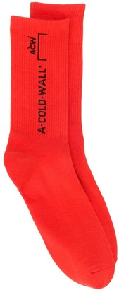 A-Cold-Wall* Logo Knit Socks