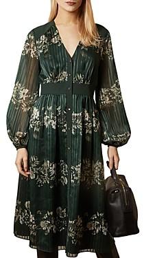 Ted Baker Delyla Meadow Print Midi Dress