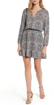 Cupcakes And Cashmere Women's Selma Paisley Blouson Dress