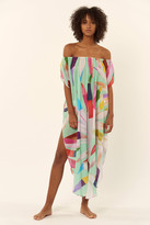 Mara Hoffman Off the Shoulder Coverup Dress