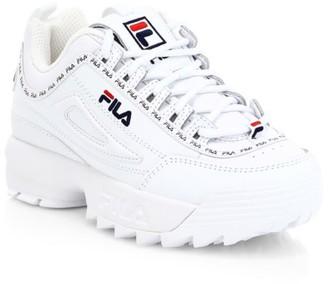 Fila Little Kid's & Kid's Disruptor Repeat Flag Chunky Sneakers