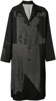 Yohji Yamamoto Runway coat - men - Silk/Cupro/Wool - 3