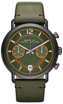 Marc by Marc Jacobs MBM5067 Stainless Steel & Leather Olive Green Dial 42mm Mens Watch
