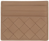 Bottega Veneta Beige Intrecciato Card Holder