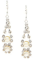 Cezanne Faux-Pearl & Rhinestone Drop Earrings