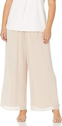 Alex Evenings Women's Wide Leg Dress Pant (Petite Regular Plus Sizes)