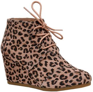 Dunes Women's Casual boots LEOPARD - Brown Leopard Zeta Boot - Women