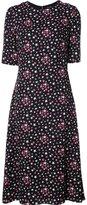 Saint Laurent star print dress - women - Silk/Viscose - 40