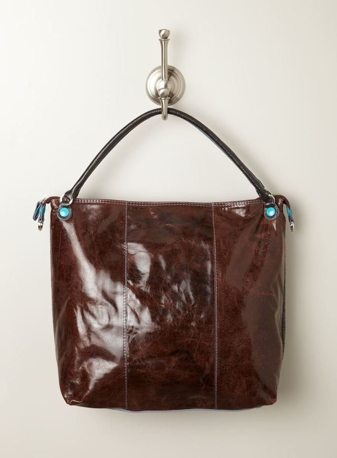 Gabs Large Hobo Matte Leather Convertible Bag